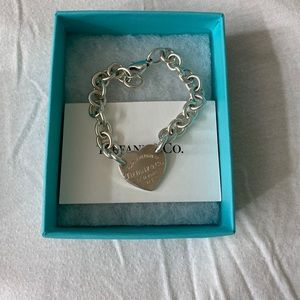 Tiffany & Co. Jewelry - Tiffany & Co heart tag necklace